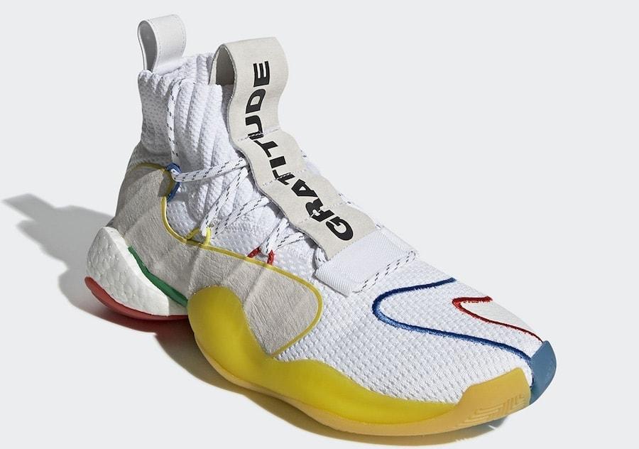 a2757dad7 Pharrell x adidas Crazy BYW X