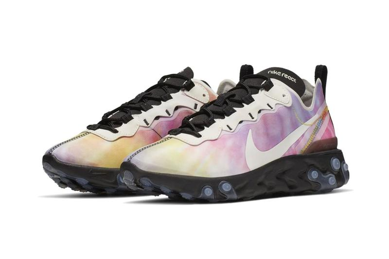f4a4b3d062f6a The post Nike Adorns the React Element 55 With a Vibrant Tie-Dye Pattern  appeared first on JustFreshKicks.