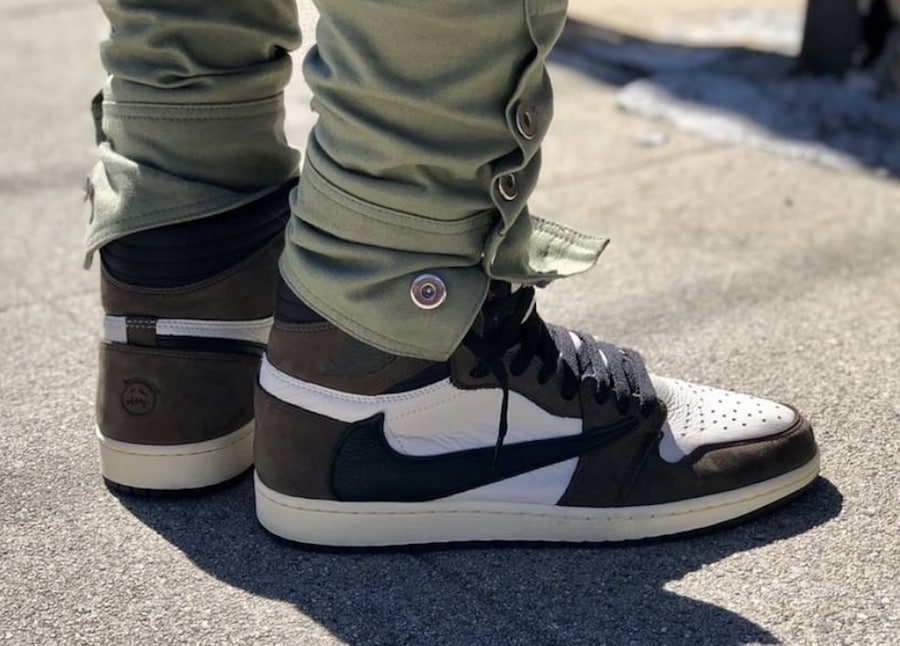 238053edf22829 The post Travis Scott s Air Jordan 1 High Receives a Potential May Release  Date appeared first on JustFreshKicks.