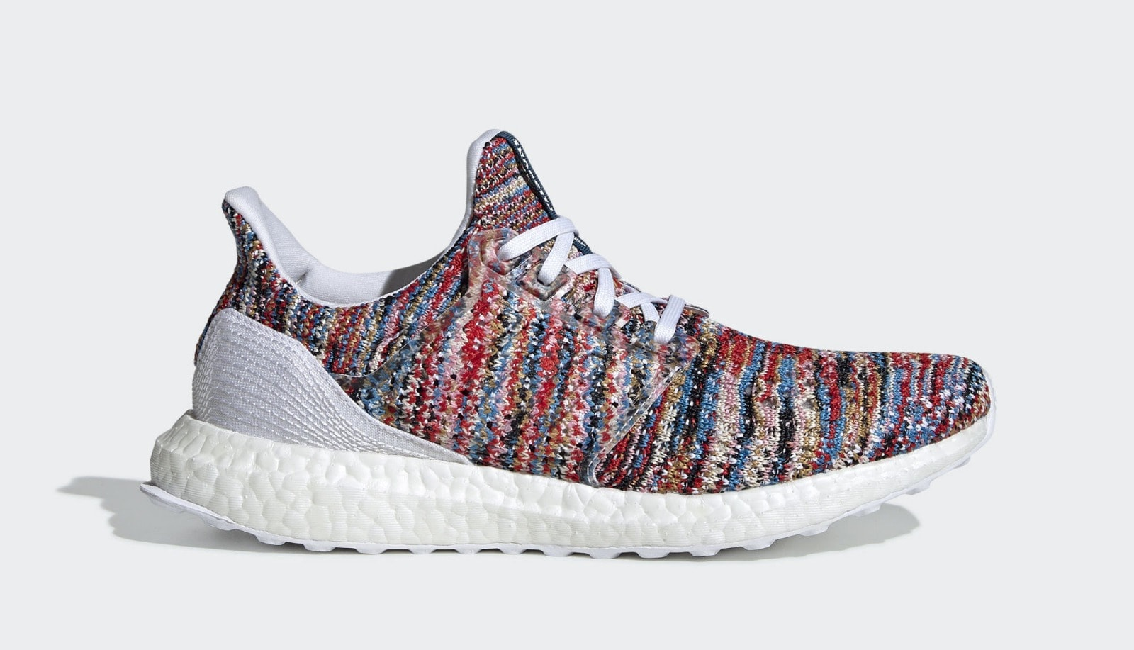 4c41a3e90 Missoni x adidas Ultra Boost Clima Multicolor Ftwr White Shock Cyan April  25