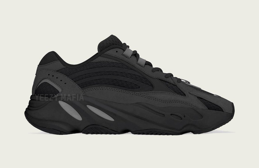 "39c1dc24a6170 The adidas Yeezy Boost 700 V2 Goes Triple Black for the ""Vanta"" Color Scheme"