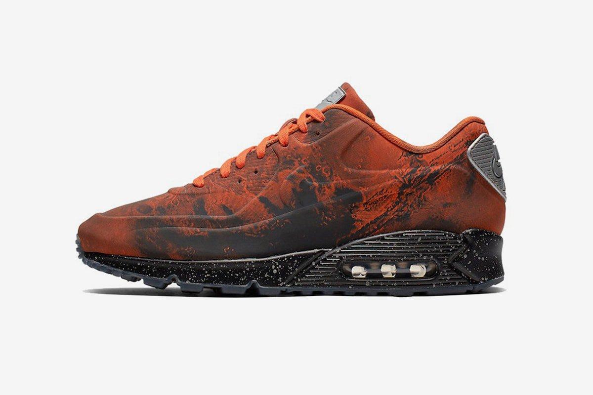 "super popular 61576 48c5f Nike Air Max 90 ""Mars Landing"" Release Date March 16th, 2019. Price 160.  Color Mars StoneMagma Orange Style Code CD0920-600"