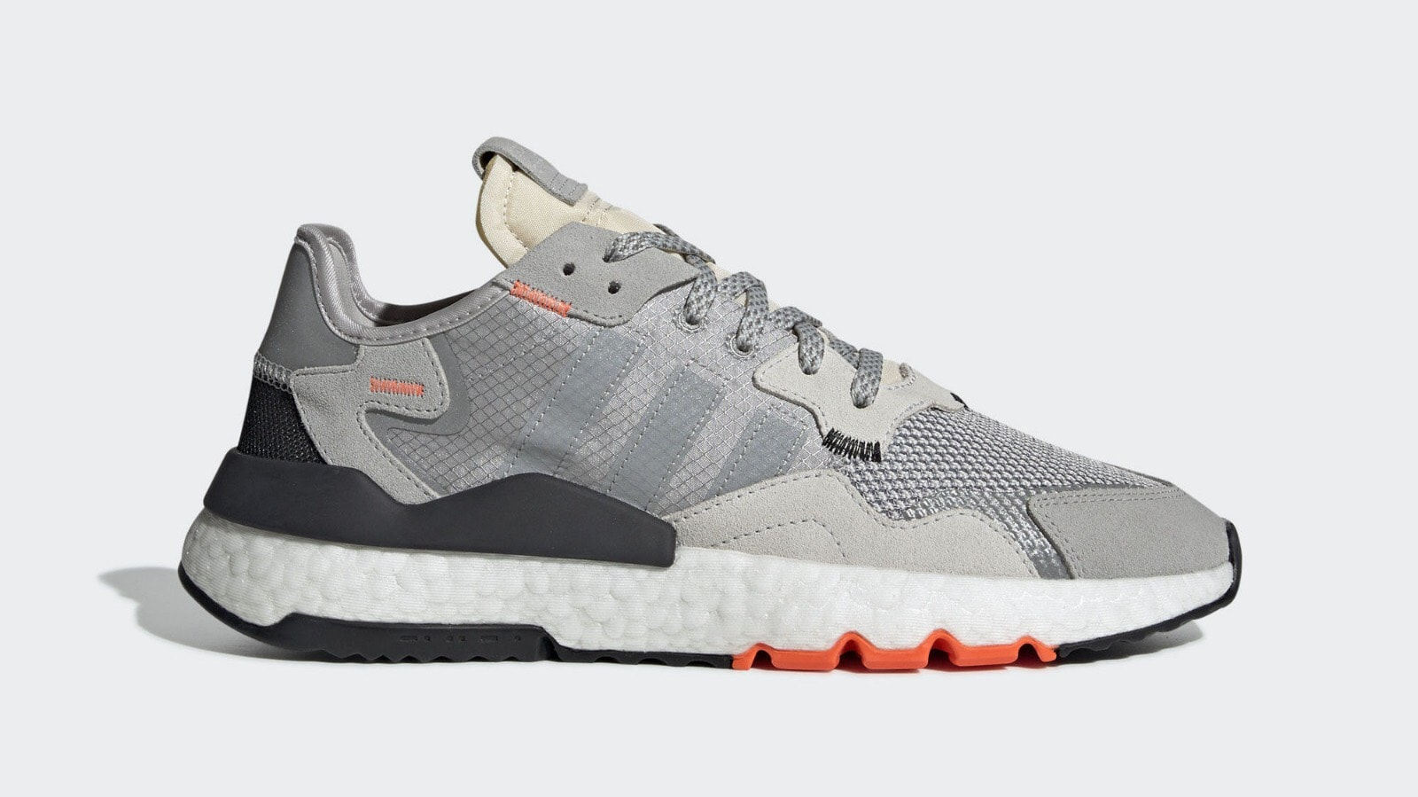 reputable site d30de 7d0d3 adidas Nite Jogger Release Date  April 11th, 2019. Price   130. Color   Grey Grey One Grey Two Style Code  G26315