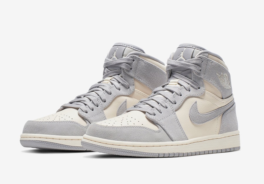 """size 40 a38fa b4968 Air Jordan 1 High Premium WMNS """"Pale Ivory"""" Release Date  TBA Price   160.  Color  Pale Ivory Style Code  AH7389-101"""