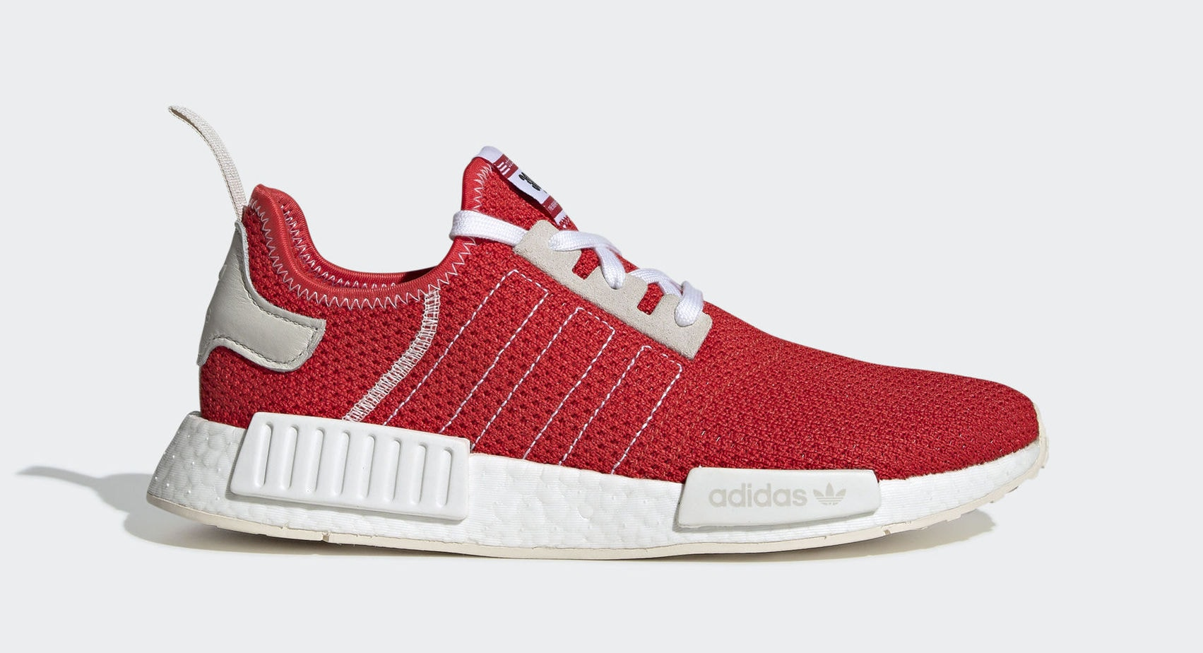 "6d50eab24b9b8 adidas NMD R1 Racing Bib ""Red"" Red White Light Beige May 1"