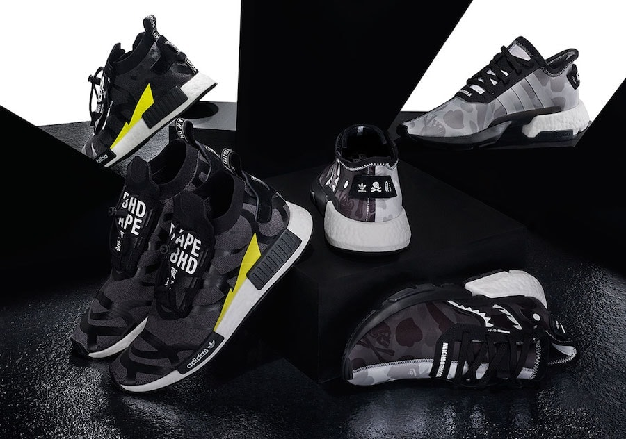 fd920f1c3 The Bape x Neighborhood x adidas Collaboration Finally Releases this ...