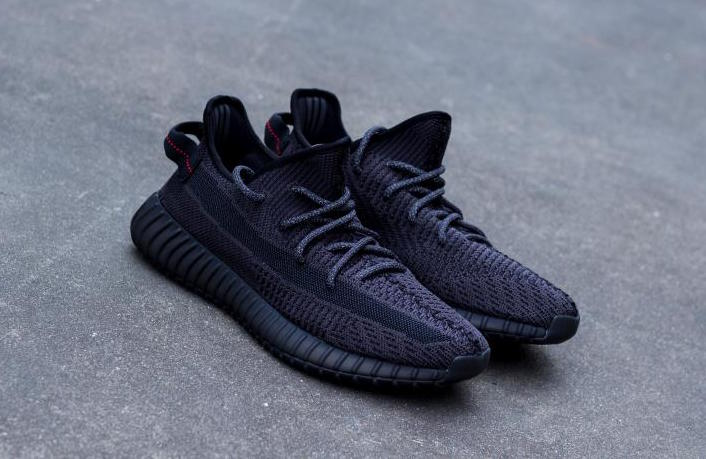 "adidas yeezy 350 v2 black reflective UPDATE: The adidas Yeezy Boost 350 V2 ""Black"" is officially scheduled to be  released on June 6th, 2019 (reflective) and June 7th, 2019 (non reflective)  at ..."
