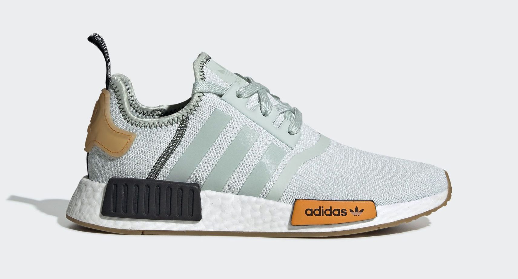 "new product 86f60 9aa84 adidas W NMD R1 ""Vapour Green"" Vapour Green Vapour Green Bright Gold April 1,  2019"