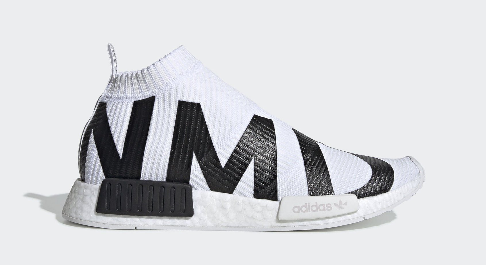 "new style ecb68 9b5a3 adidas NMD CS1 PK Branding ""White"" Cloud White Cloud White Core Black May  18, 2019"