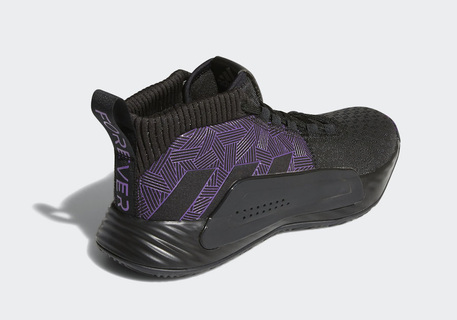 "super popular 37141 007a9 Marvel and adidas Release Official Images of The Dame 5 ""Black Panther"""
