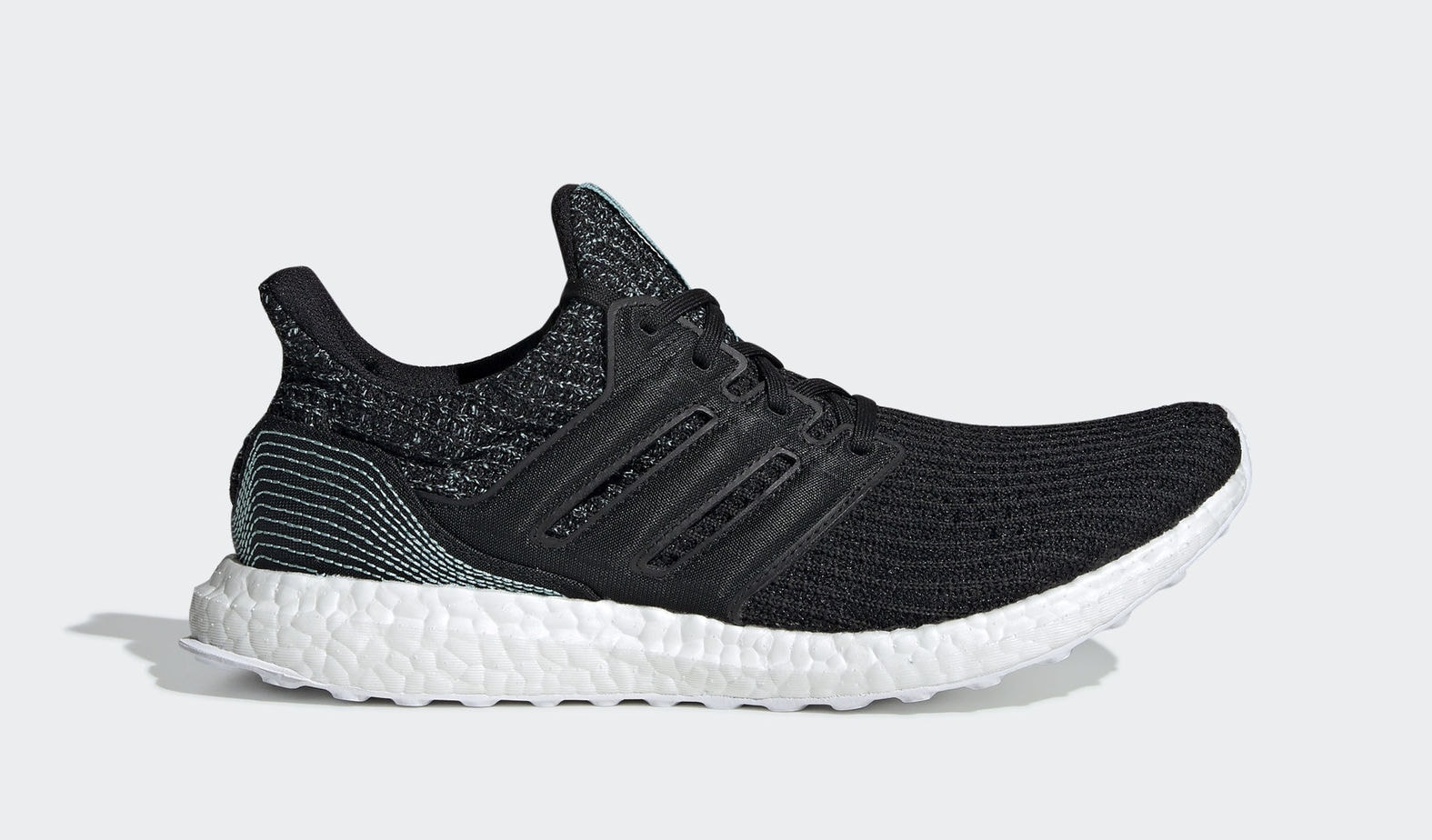 "9e0ba37b118 Parley x adidas Ultra Boost ""Earth Day"" Core Black Core Black Cloud White  April 22"