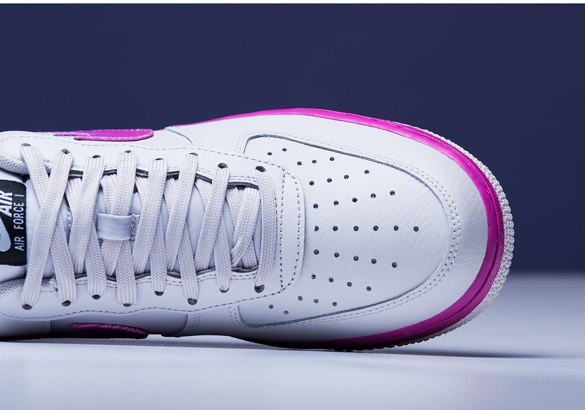 """quality design cf435 ec5d2 The post The Nike Air Force 1 Low Dons A Vibrant """"Hyper Grape"""" Colorway  Ready For Those Summer Vibes appeared first on JustFreshKicks."""