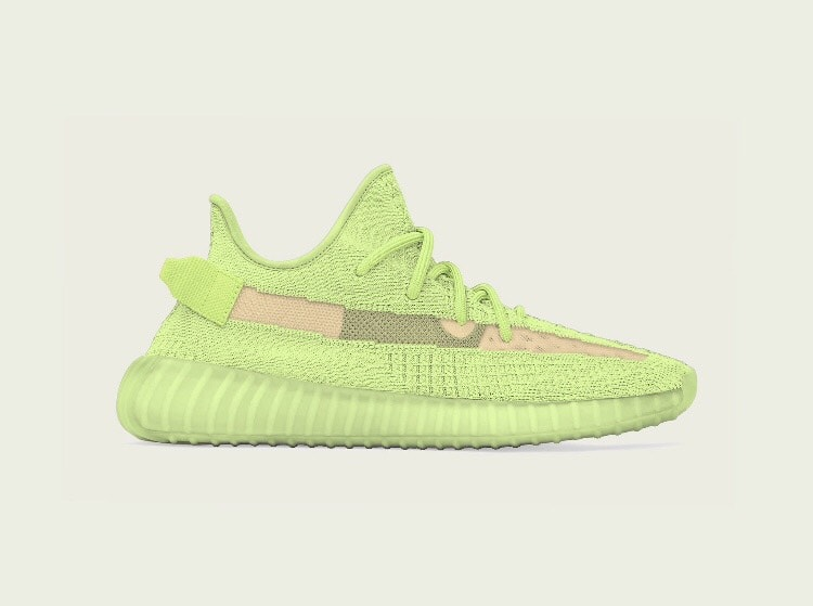 "896f44c990d YeezyMafia just broke the internet as he revealed the adidas Yeezy Boost  350 V2 GID ""Glow"" and it s anticipated release date. After months of rumors  and ..."