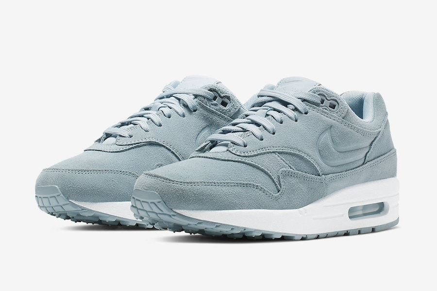 """size 40 860b3 d5008 Nike Air Max 1 WMNS PRM """"Turquoise Suede"""" Release Date  TBA Price   140.  Style Code  454746-405"""
