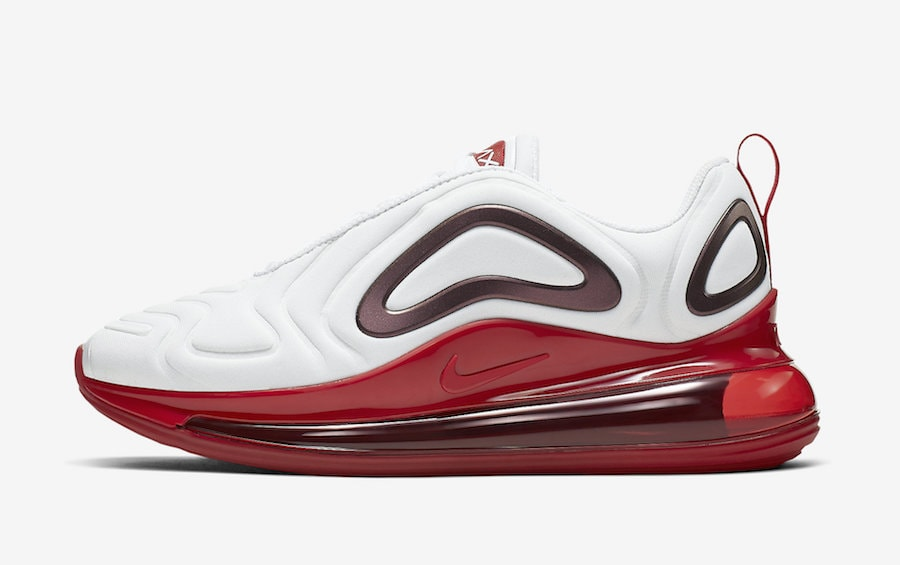 4b9c5142f96 Nike WMNS Air Max 720. Release Date  TBA Price   180. Color  White Gym Red  Style Code  CD2047-100