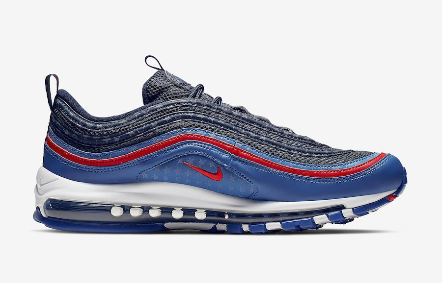 9f76b6bd71a The post Nike Air Max 97 Celebrates America with a USA Themed Colorway  appeared first on JustFreshKicks.