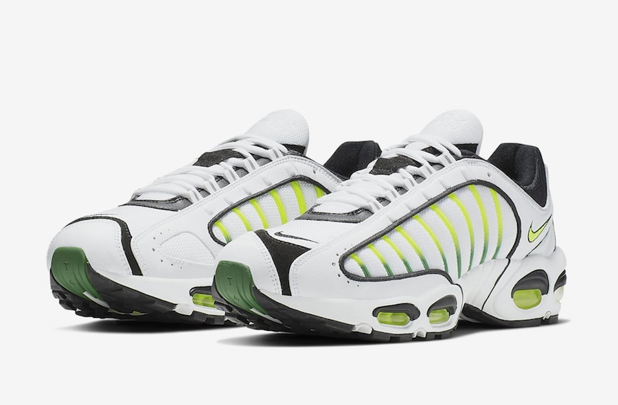 quality design 17907 a81b1 Nike Air Max Tailwind 4 Electrified in New Volt Colorway