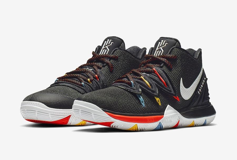 "5a2d8b5cfab New Nike Kyrie 5 Dedicated to Popular Sitcom ""Friends""   Air Jordan Release  Dates"