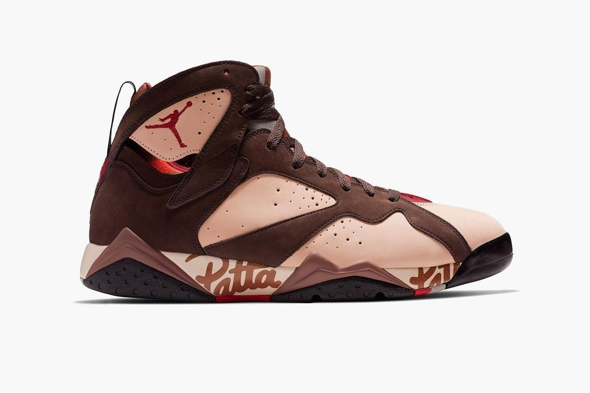 d339249bb4c0 ... their collaborative efforts with Jordan Brand. Patta s co-founder Tim  Sabajo revealed the partnership will consist of two new Air Jordan 7  colorways
