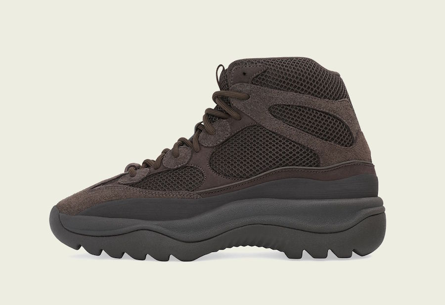 "b4750e5e4e5 Another adidas Yeezy Desert Boot Will Release Soon In An ""Oil"" Colorway"