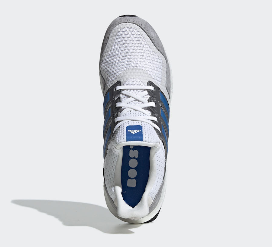4a7dec525a63 The post adidas Ultra Boost S L Releasing this Spring in Clean White Blue  appeared first on JustFreshKicks.