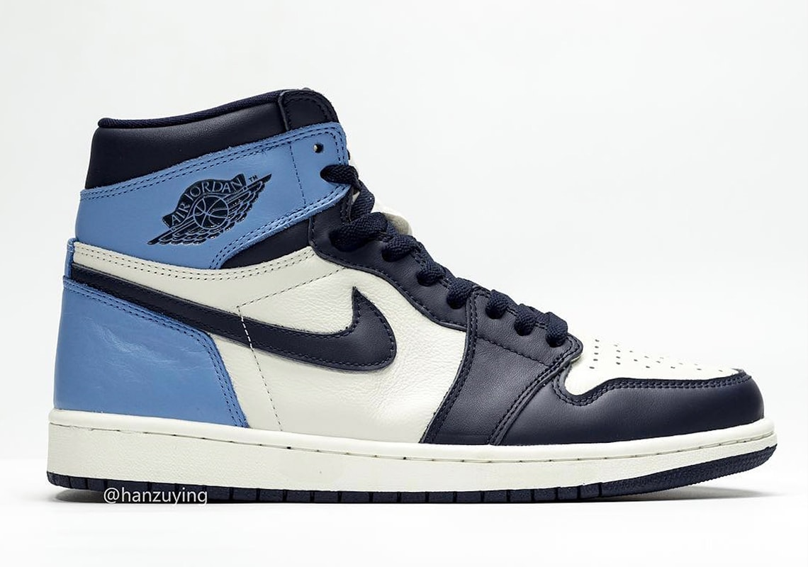 best loved 8f4c5 aa90f Air Jordan 1 Retro High OG Release Date  August 17th, 2019 price   160.  Color  Sail Obsidian University Blue Style Code  555088-140