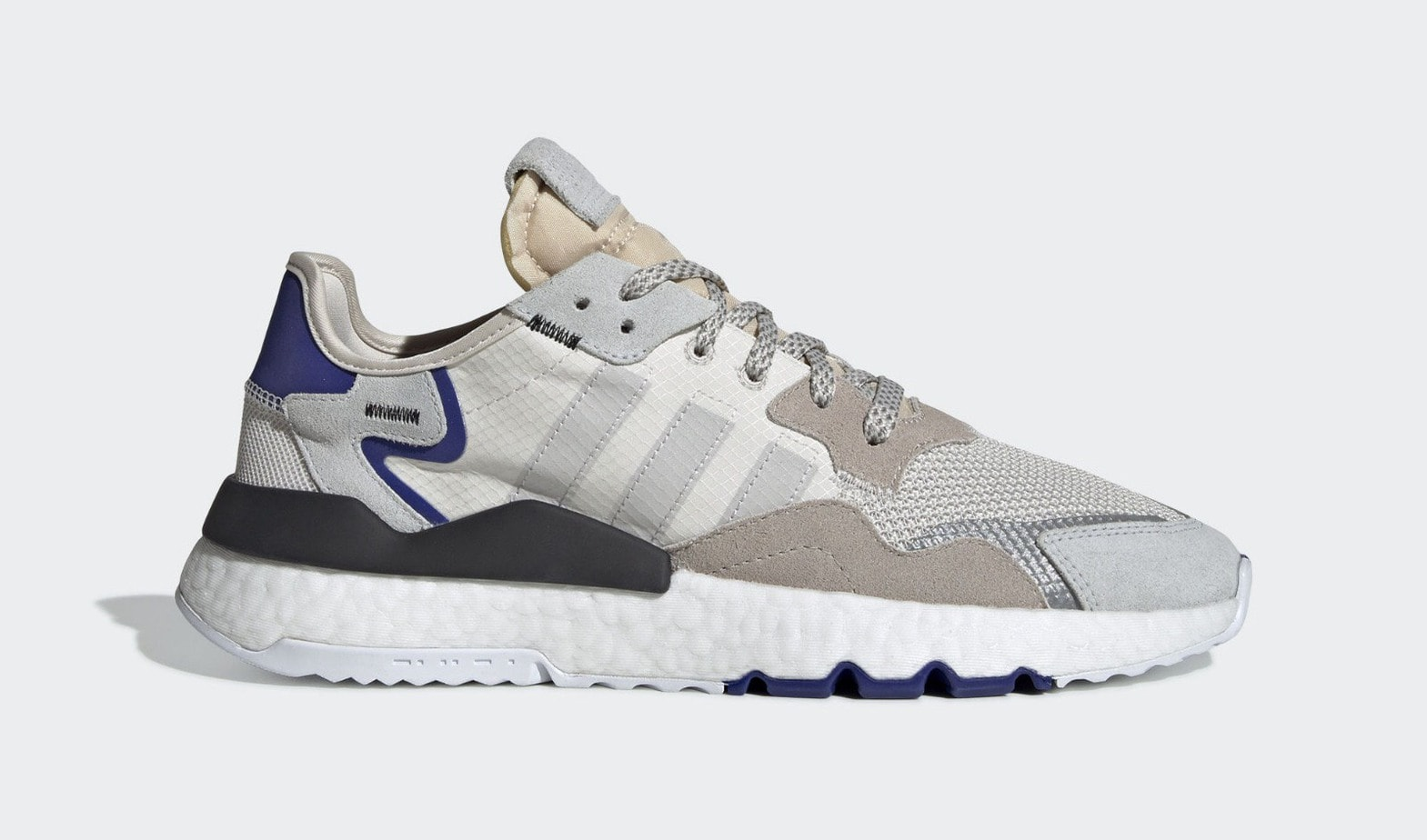 san francisco 0ad41 0562c adidas Nite Jogger Release Date April 11th, 2019. Price 130. Color  Cloud WhiteCrystal WhiteCrystal White Style Code BD7676