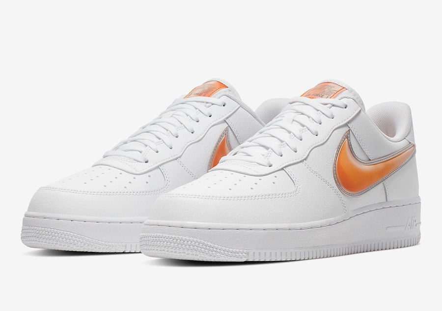 """cheap for discount 98789 c8a0b Nike Air Force 1  07 """"Orange Peel"""" Release Date  Available Now Price   100.  Color  White Orange Peel Style Code  A02441-102"""