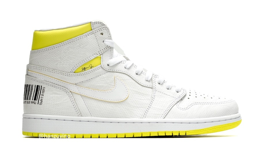 ebc0f14e050 Air Jordan 1 Retro High OG Release Date: July 2019. Price: $160. Color:  White/Dynamic Yellow-Black Style Code: 555088-170