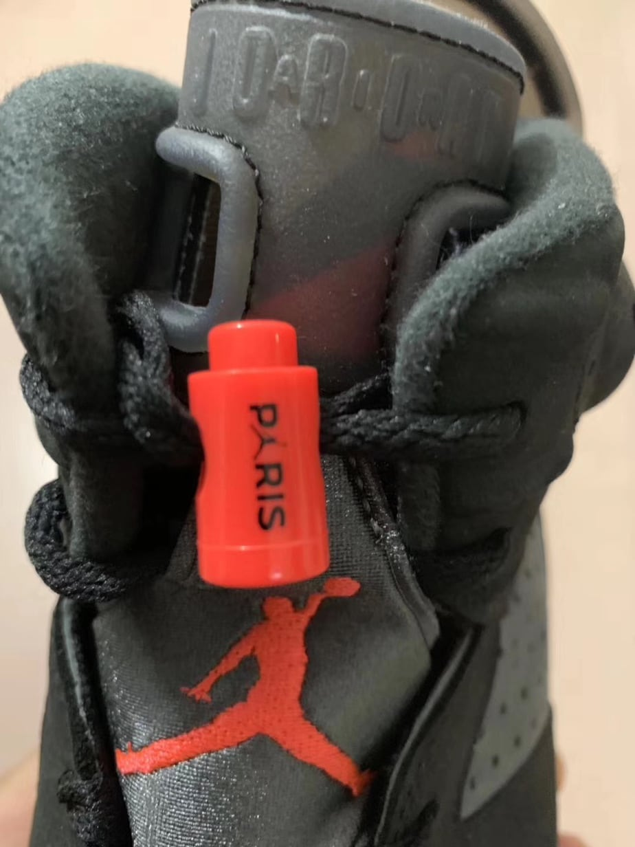 """sale retailer 29a2a cfb2b Air Jordan 6 """"PSG"""" Release Date  July 2019. Price   225. Color  Iron  Grey Infrared 23-Black"""