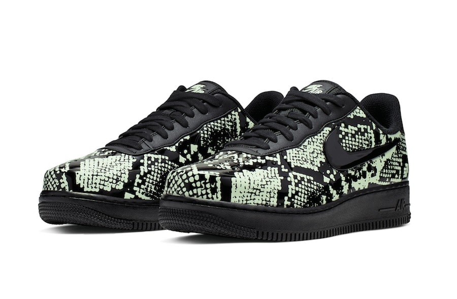 buy popular f3508 4f28d Nike looks to tap into the exotic print trend that has recently seen a  major comeback in the last months. Check out the Nike Air Force 1 Foamposite  Pro Cup ...