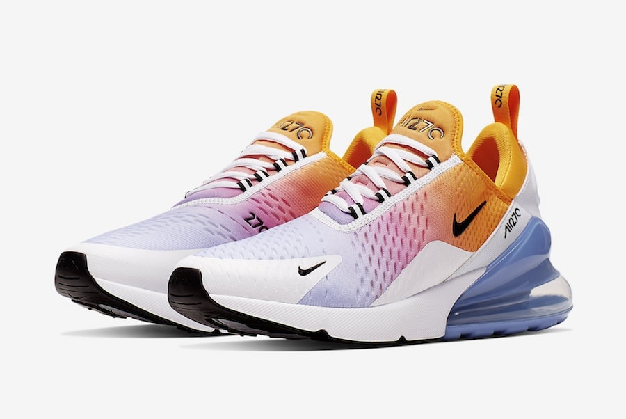 bd7fa9405a8f02 Nike Air Max 270. Release Date  TBA Price   150. Color  University Gold  Black-University Blue Style Code  AH8050-702