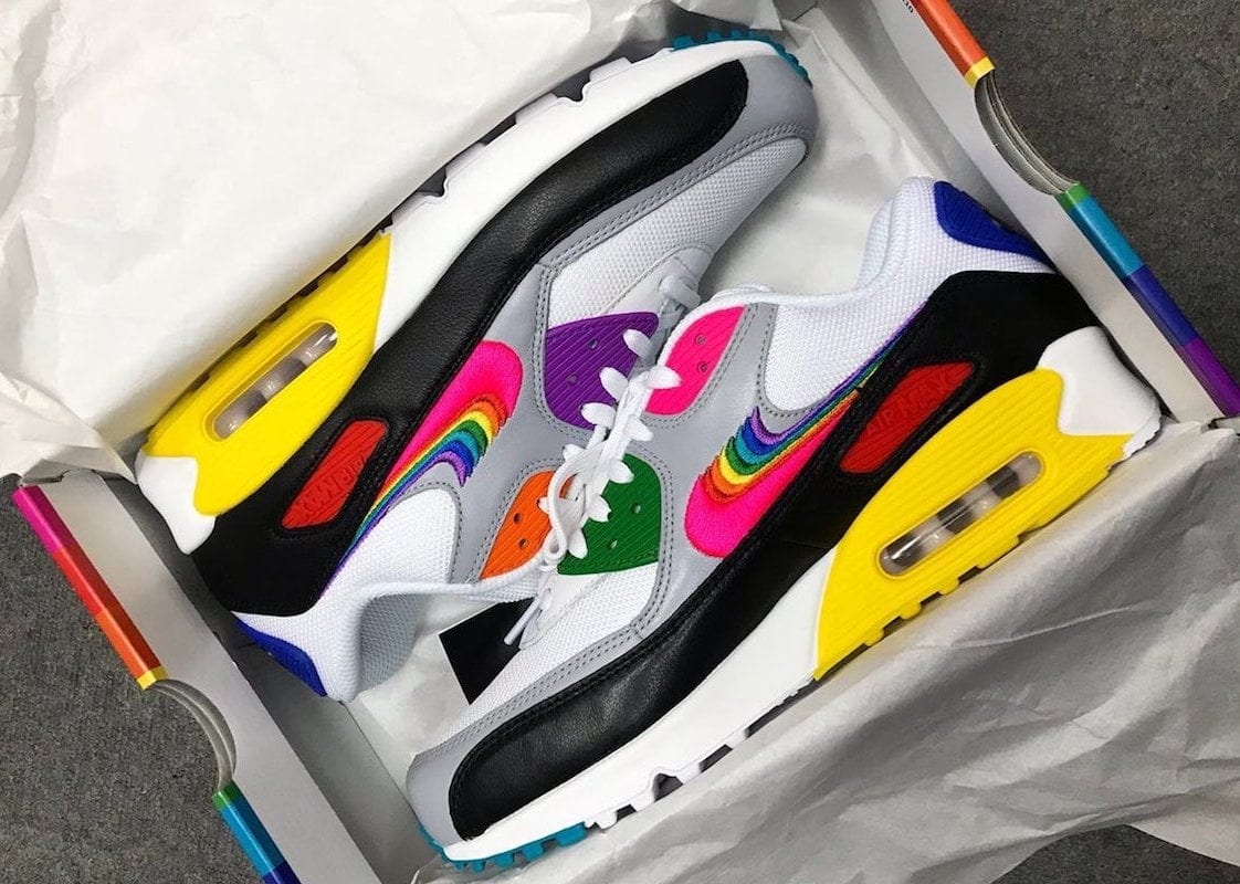 "buy popular c8d84 fc9fa Nike Air Max 90 ""Be True"" Releasing this June – Ball, Kick ..."