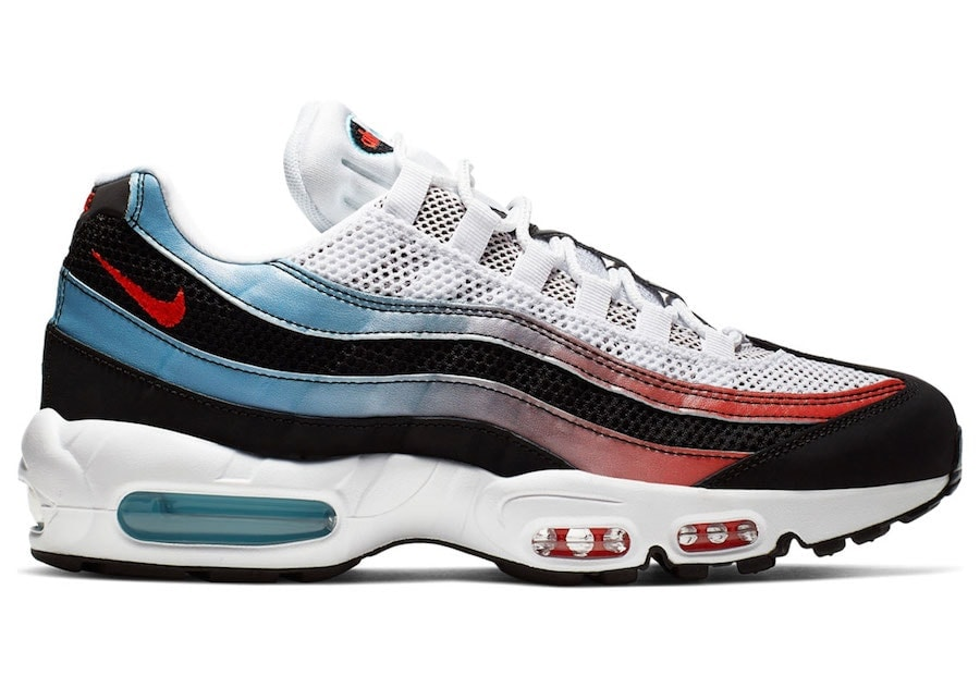 Nike Air Max 95 Univerist Red Blue Fury Available Now - JustFreshKicks
