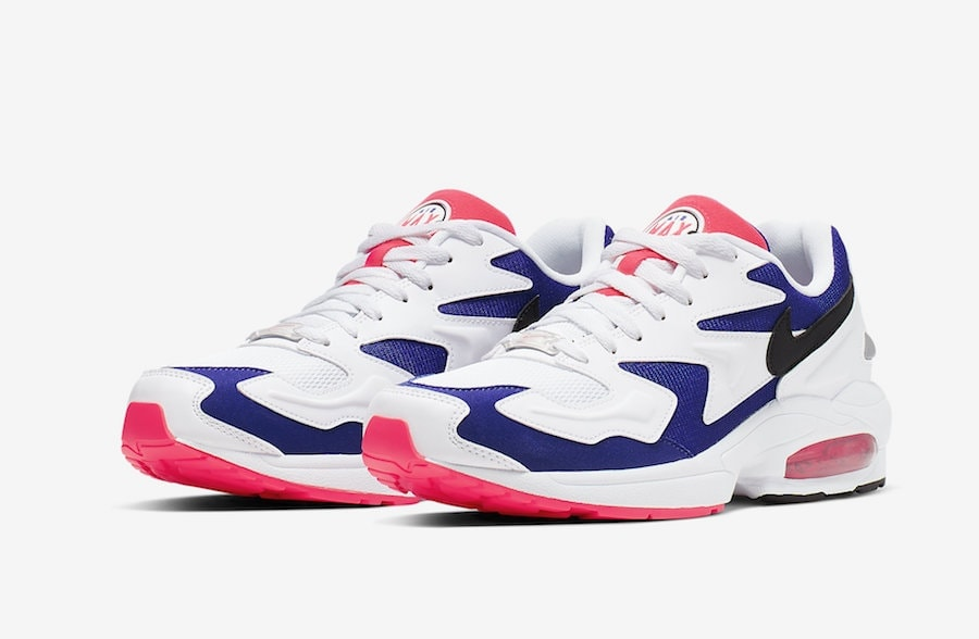 outlet store c6bee 05c9f A Nike Air Max2 Light in Purple and Crimson is Releasing Soon
