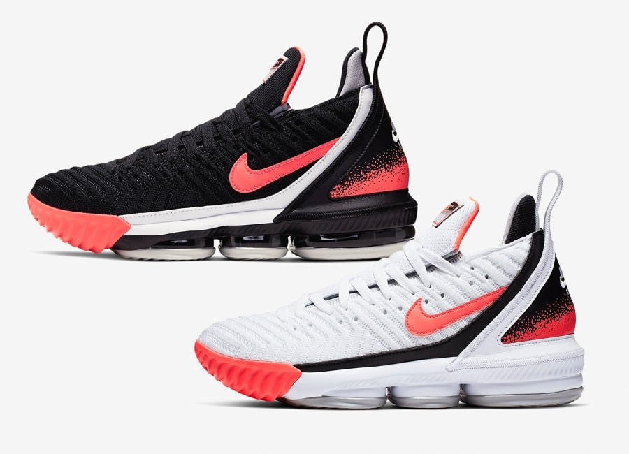 "b65a570fded LeBron s season is over but that does not stop him from putting out new  iterations of his signature basketball sneakers. Check out the Lebron 16  ""Hot Lava"" ..."