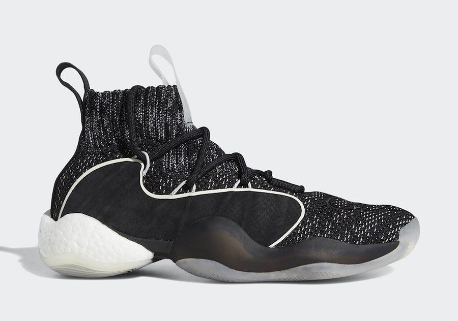 """best sneakers 0d375 bb01c Check out official images below and as always stay tuned to JustFreshKicks  for more adidas BYW news. adidas Crazy BYW X """"Oreo"""" Release Date  Available  Now"""