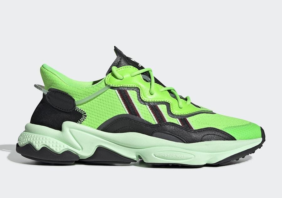23e0ef545acf A Neon Green adidas Ozweego adiPRENE Revealed to be Releasing Soon