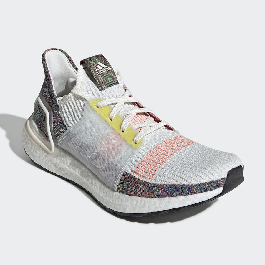 """f94248dce The post adidas Celebrates Pride Month with the adidas Ultra Boost 2019  """"Pride"""" appeared first on JustFreshKicks."""