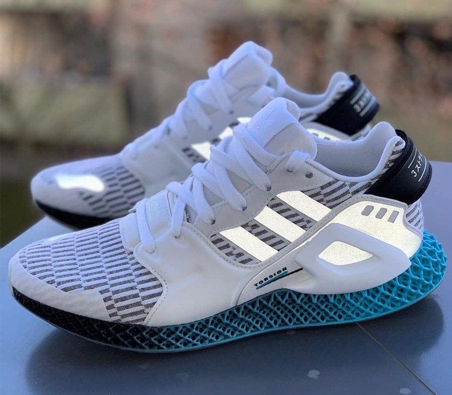adidas Futurecraft 4D Technology Surfaces in the Form of the New ZX 4D Morphe
