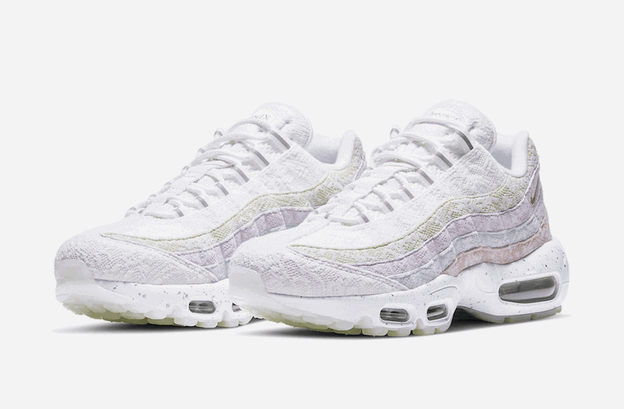Nike Equips the Air Max 95 with Lace and Spring Flowers ...