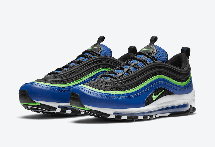 Royal Blue and Neon Cover the Newest Nike Air Max 97 ...