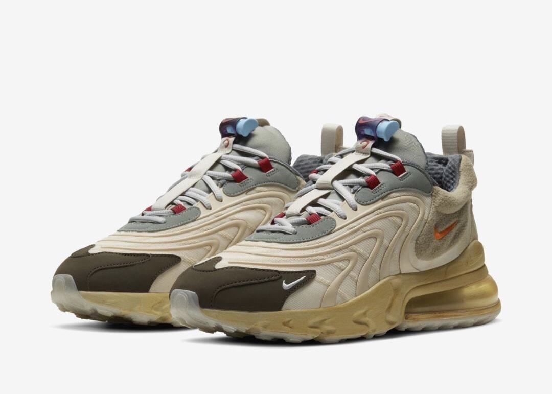 Official Images of the Travis Scott x Nike Air Max 270 React