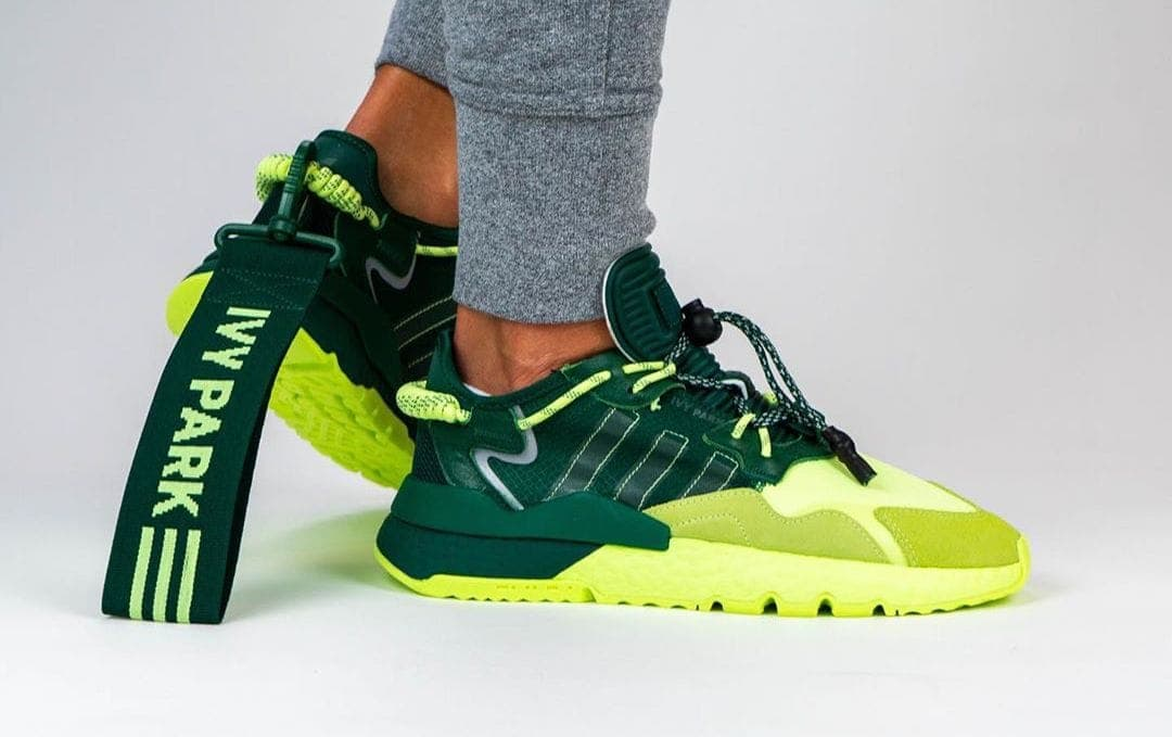"""Beyonce's Ivy Park x adidas Nite Jogger """"Signal Green"""" Releases this Month"""