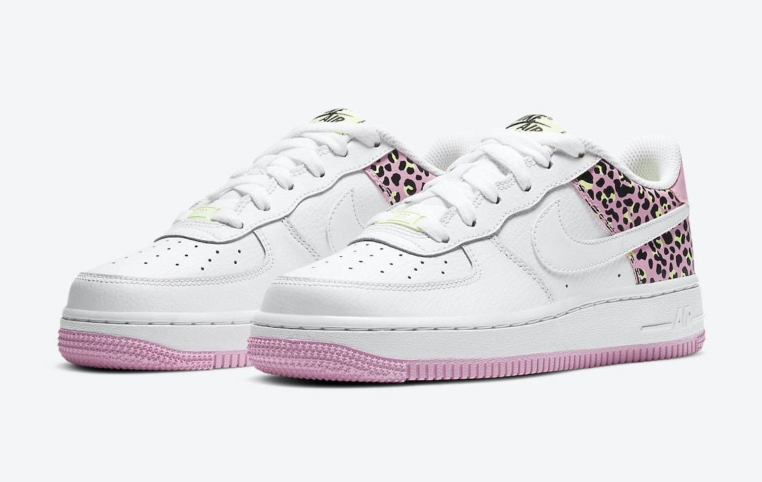 Nike Air Force 1 Low Leopard Pink Rise Release Info - JustFreshKicks