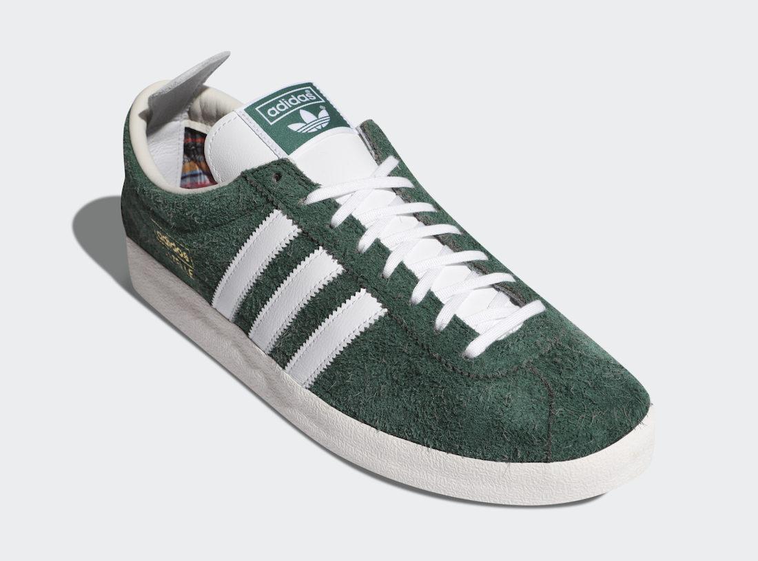 adidas Gazelle Vintage Hunter Green Release Info - JustFreshKicks