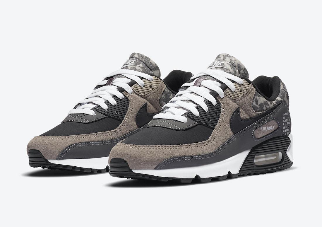 Nike Air Max 90 enigma Stone CT1688-001 Release Info - JustFreshKicks