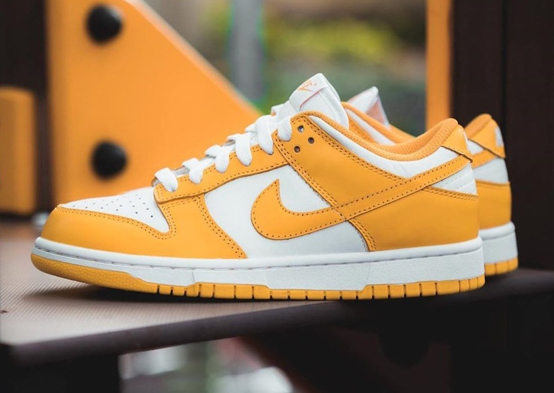 """Detailed Images of the Nike Dunk Low """"Laser Orange"""" Releasing Next Year"""