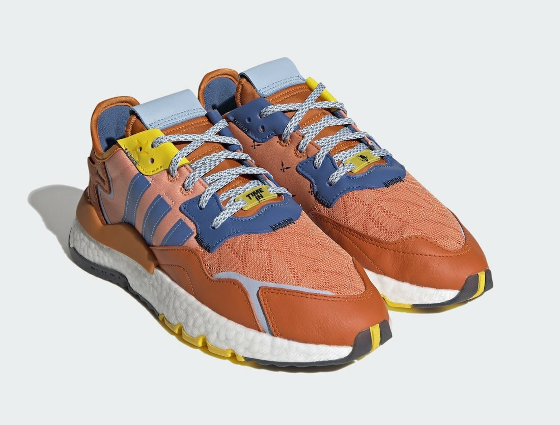 """Ninja x adidas Nite Jogger """"Time In"""" Orange Releases this Month"""