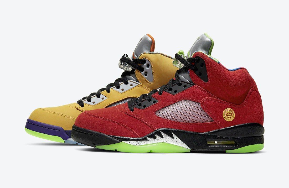 """Official Look: Air Jordan 5 """"What The"""""""